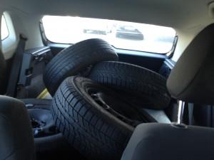 Sommerräder in Kundenfahrzeug
