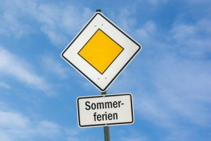 Schild 78 - Sommerferien